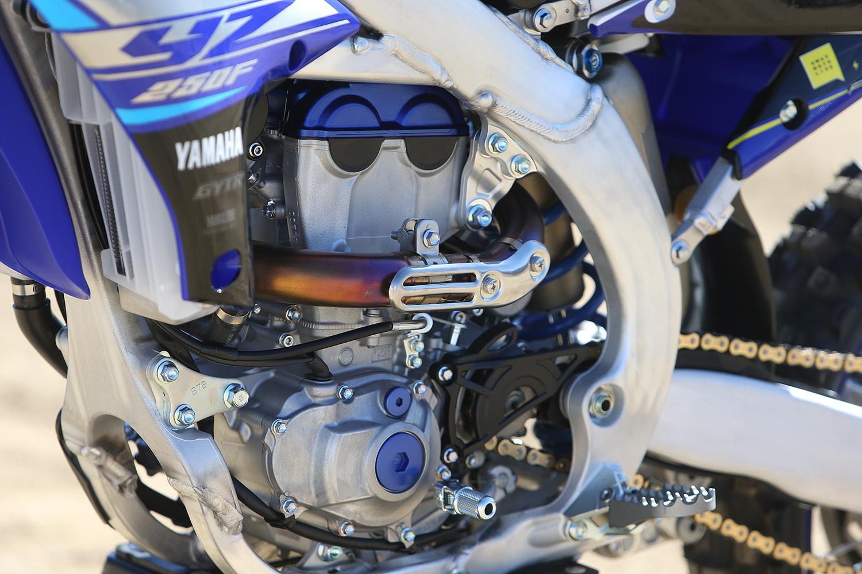 YAMAHA Radiator Scoops Shrouds YZF 450 2018-19 YZF 250 2019 OEM Blue Motocross