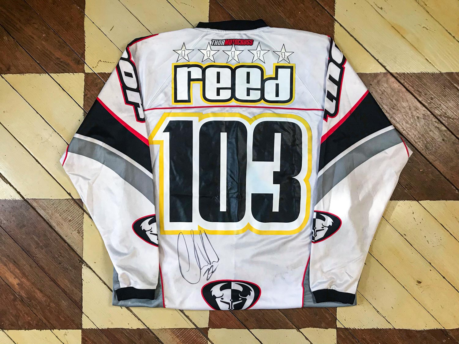 Garage Finds | Chad Reed Rookie Season Jersey - Swapmoto Live
