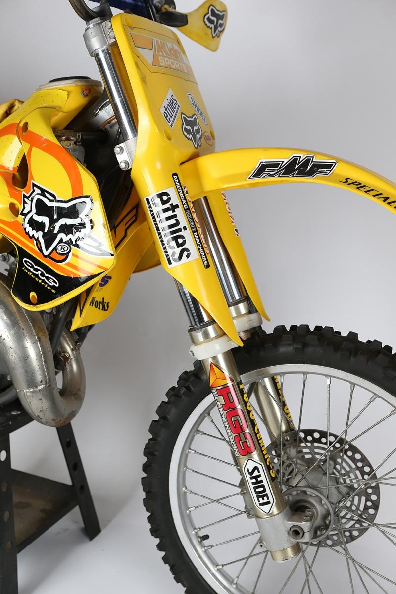 Travis Pastrana's 1999 Suzuki RM125