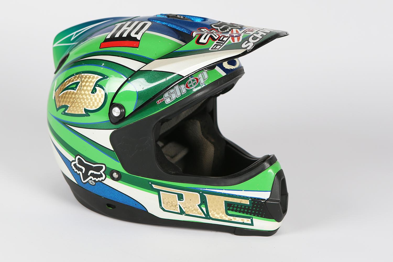 Fox Racing Friday Ricky Carmichael S 2000 Pilot Helmet Swapmoto Live