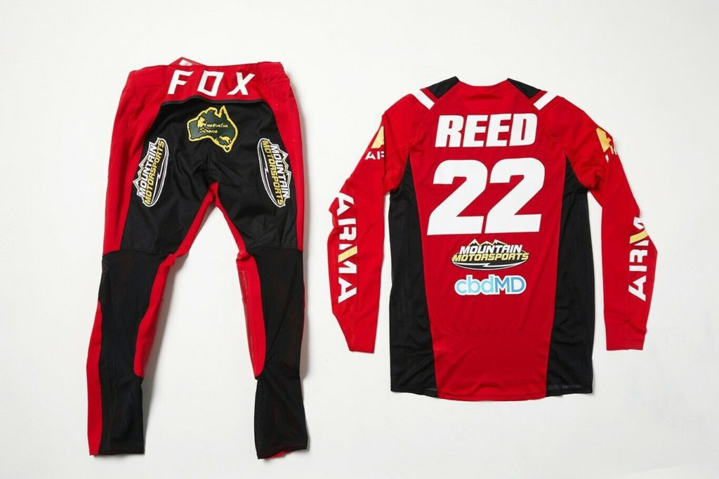 Chad Reed Gear Auction For Australian Fire Relief | Swapmoto Live